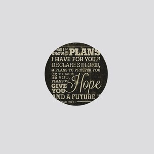 Hope and a Future Mini Button