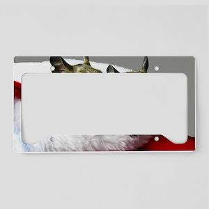 DEGUS Christmas Stocking Skin License Plate Holder