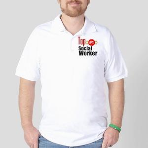 Top Social Worker  Golf Shirt