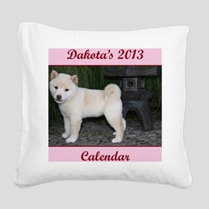 Dakota cover Square Canvas Pillow