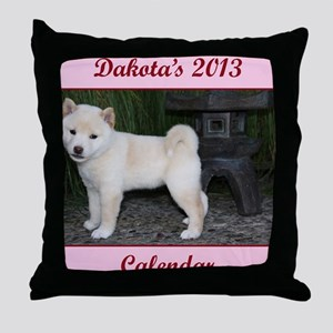 Dakota cover Throw Pillow