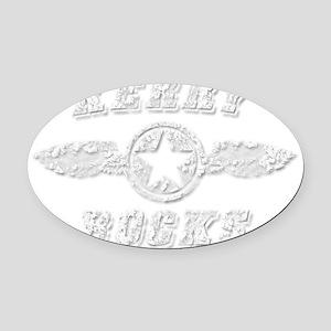 KERRY ROCKS Oval Car Magnet