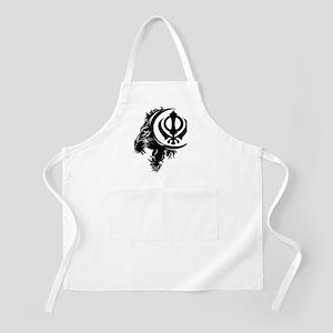 Singh Sikh Symbol 1 Apron