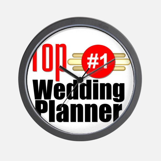 Top Wedding Planner  Wall Clock