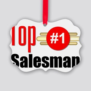 Top Salesman   Picture Ornament