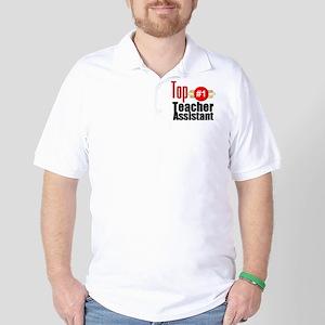 Top Teacher Assistant  Golf Shirt