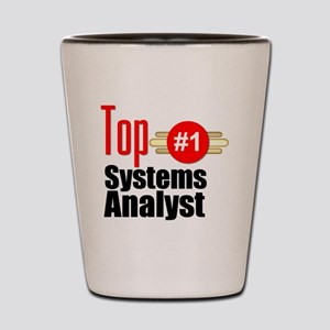 Top Systems Analyst  Shot Glass