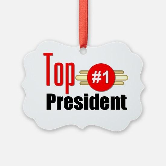 Top President  Ornament