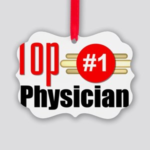 Top Physician  Picture Ornament