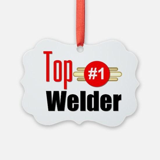 Top Welder  Ornament