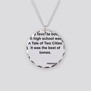 TaleOfTwoCities Necklace Circle Charm