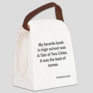 TaleOfTwoCities Canvas Lunch Bag