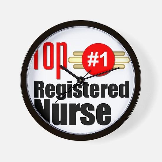 Top Registered Nurse  Wall Clock