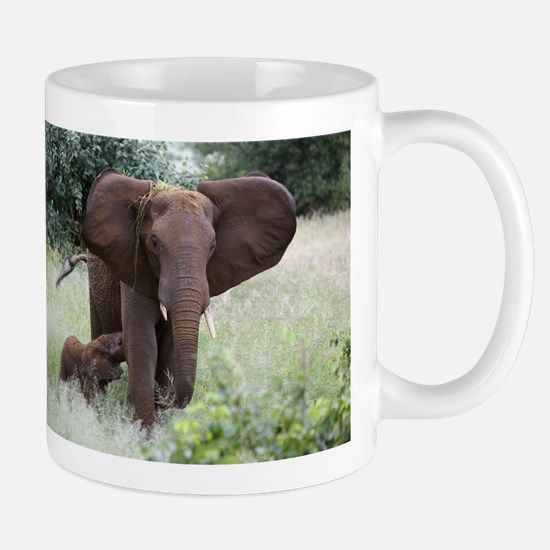 African elephants - Stainless Steel Travel Mugs