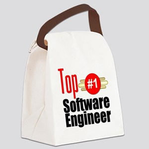 Top Software Engineer  Canvas Lunch Bag