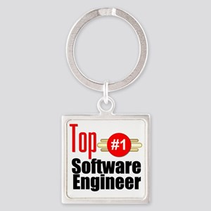 Top Software Engineer  Square Keychain