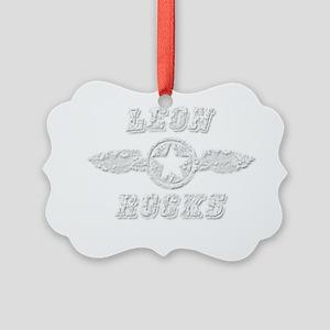 LEON ROCKS Picture Ornament