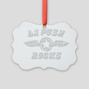 LA PUSH ROCKS Picture Ornament