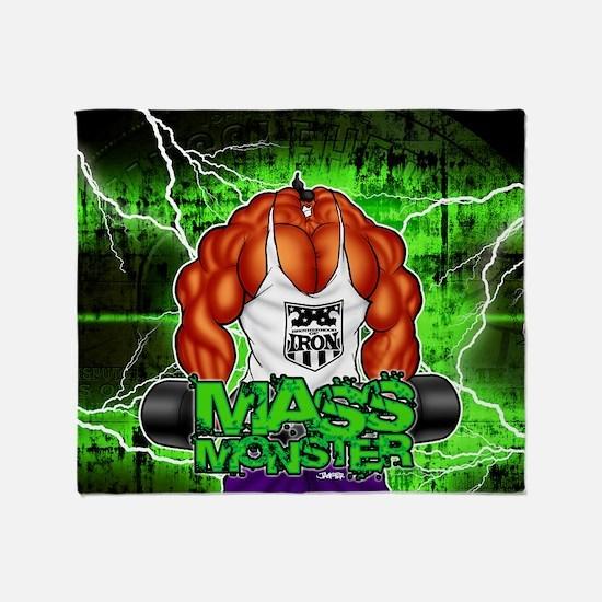 MUSCLEHEDZ - MASS MONSTER! Throw Blanket