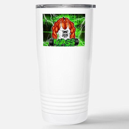 MUSCLEHEDZ - MASS MONST Stainless Steel Travel Mug