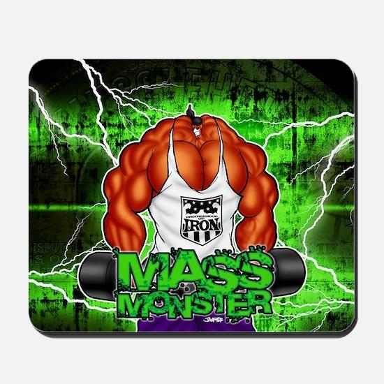 MUSCLEHEDZ - MASS MONSTER! Mousepad