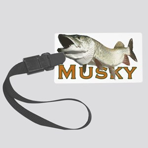 Monster Musky Large Luggage Tag