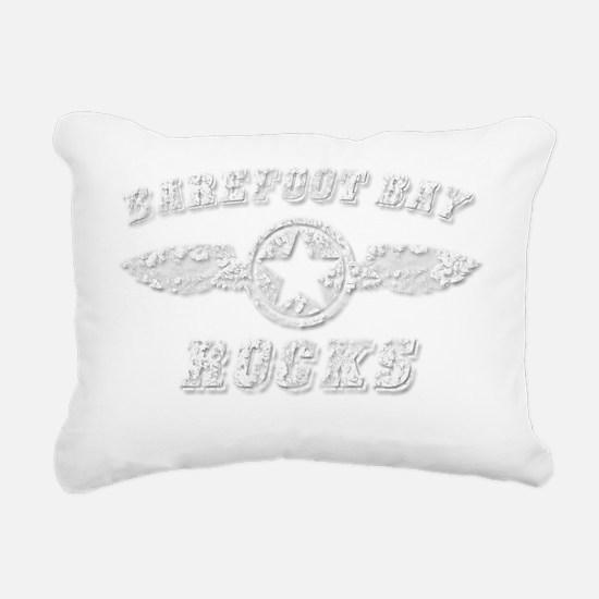 BAREFOOT BAY ROCKS Rectangular Canvas Pillow