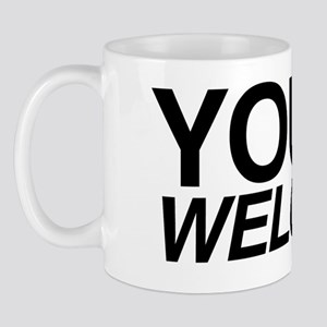 Welcome Black Mug