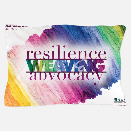 2013 Social Work Month Poster Image Pillow Case