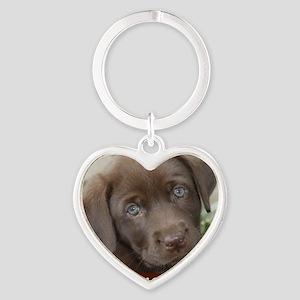 Zoe Heart Keychain
