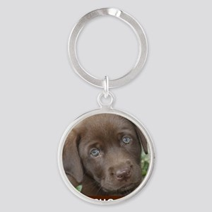 Zoe Round Keychain