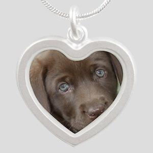 Zoe Silver Heart Necklace