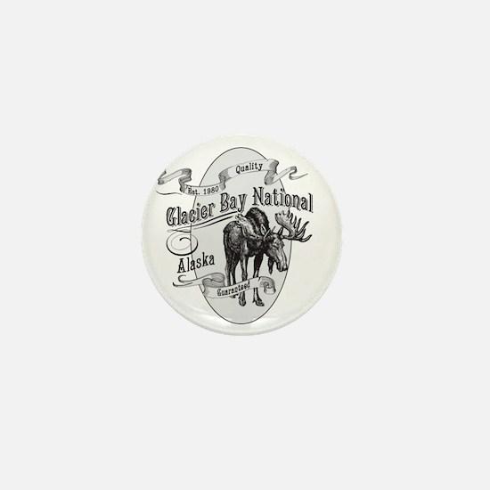 Glacier Bay Vintage Moose Mini Button