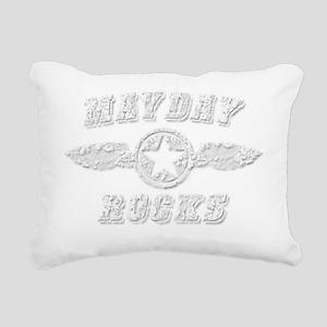 MAYDAY ROCKS Rectangular Canvas Pillow