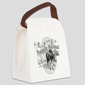 Yosemite Vintage Moose Canvas Lunch Bag