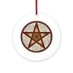 Celtic Pentagram - 7 - Ornament (round)