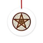 Celtic Pentagram - 6 - Ornament (Round)