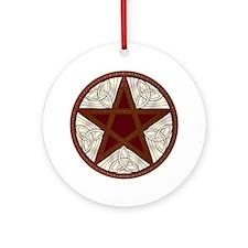 Celtic Pentagram - 11 - Ornament (round)
