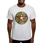 Celtic Pentagram - 2 - Men's Light T-Shirt
