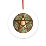 Celtic Pentagram - 2 - Ornament (Round)