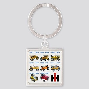 Lineage of IH no lines Square Keychain