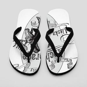 Anchorage Vintage Moose Flip Flops