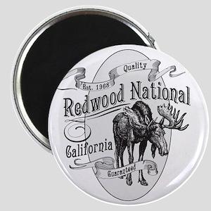 Redwood Vintage Moose Magnet