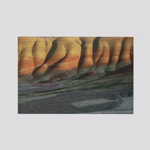 Painted Hills Square Rectangle Magnet