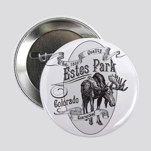 "Estes Park Vintage Moose 2.25"" Button"