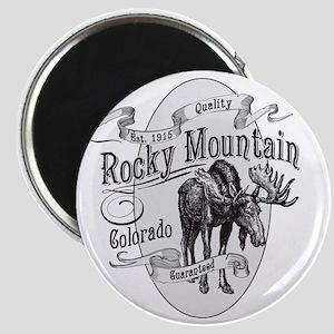 Rocky Mountain Vintage Moose Magnet
