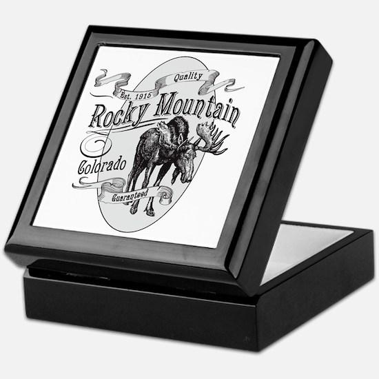 Rocky Mountain Vintage Moose Keepsake Box