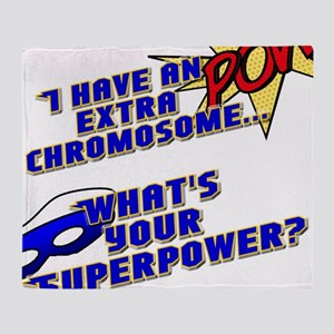 Extra Super Power Throw Blanket