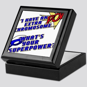 Extra Super Power Keepsake Box