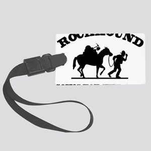 Rockhound Going For The Gold Large Luggage Tag